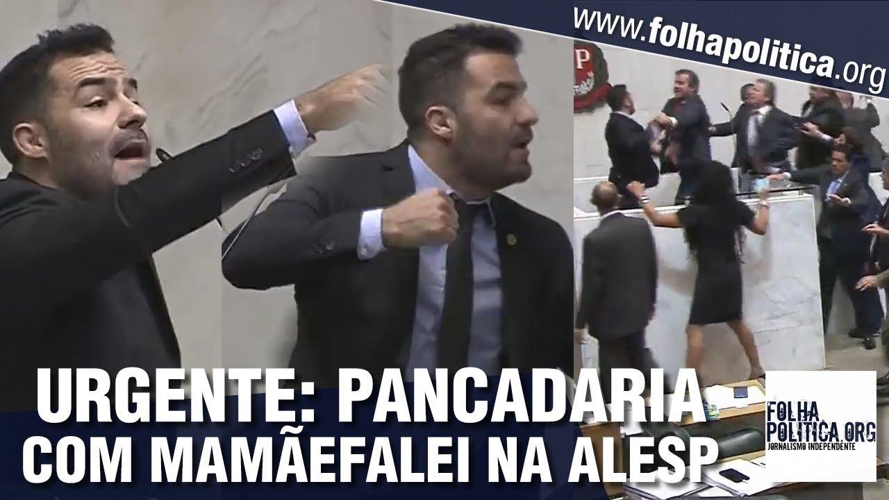Resultado de imagem para URGENTE: Discurso do deputado Arthur 'Mamãefalei' termina em pancadaria na ALESP