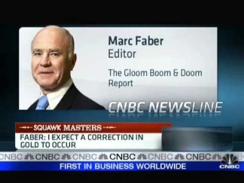 Marc Faber - You Should Have 20 - 30% in Physical Gold