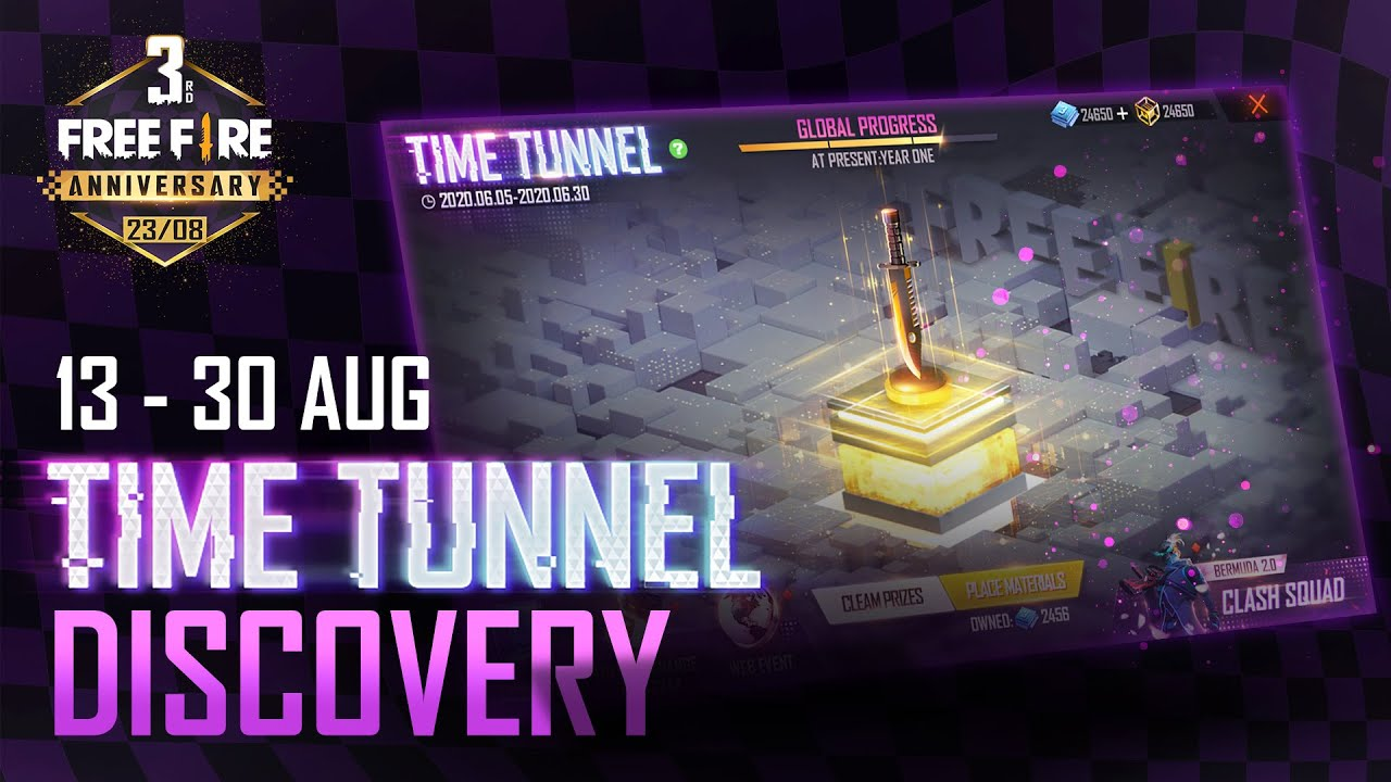 TIME TUNNEL DISCOVERY | Free Fire 3rd Anniversary