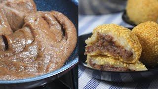 How to make Kidney Bean Paste filling for Buchi/Hopia/Mooncake