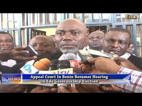 Appeal Court resumes hearing of Edo guber election