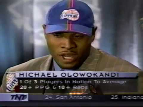 The 1st Pick of the 1998 Draft.