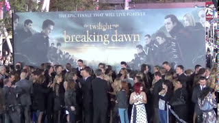 Twilight Saga: Breaking Dawn Movie World Premiere Part 2 Last Day of Fan Camp