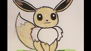How to Draw EEVEE? This one SUCKS! Draw My NEW EEVEE!