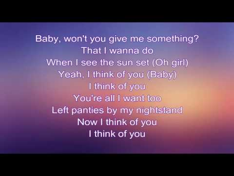Jeremih - I Think Of You ft. Chris Brown, Big Sean (lyrics)
