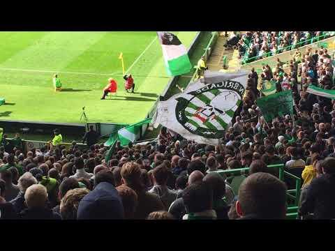 Celtic Fans   Callum McGregor Song   Celtic vs Hibs