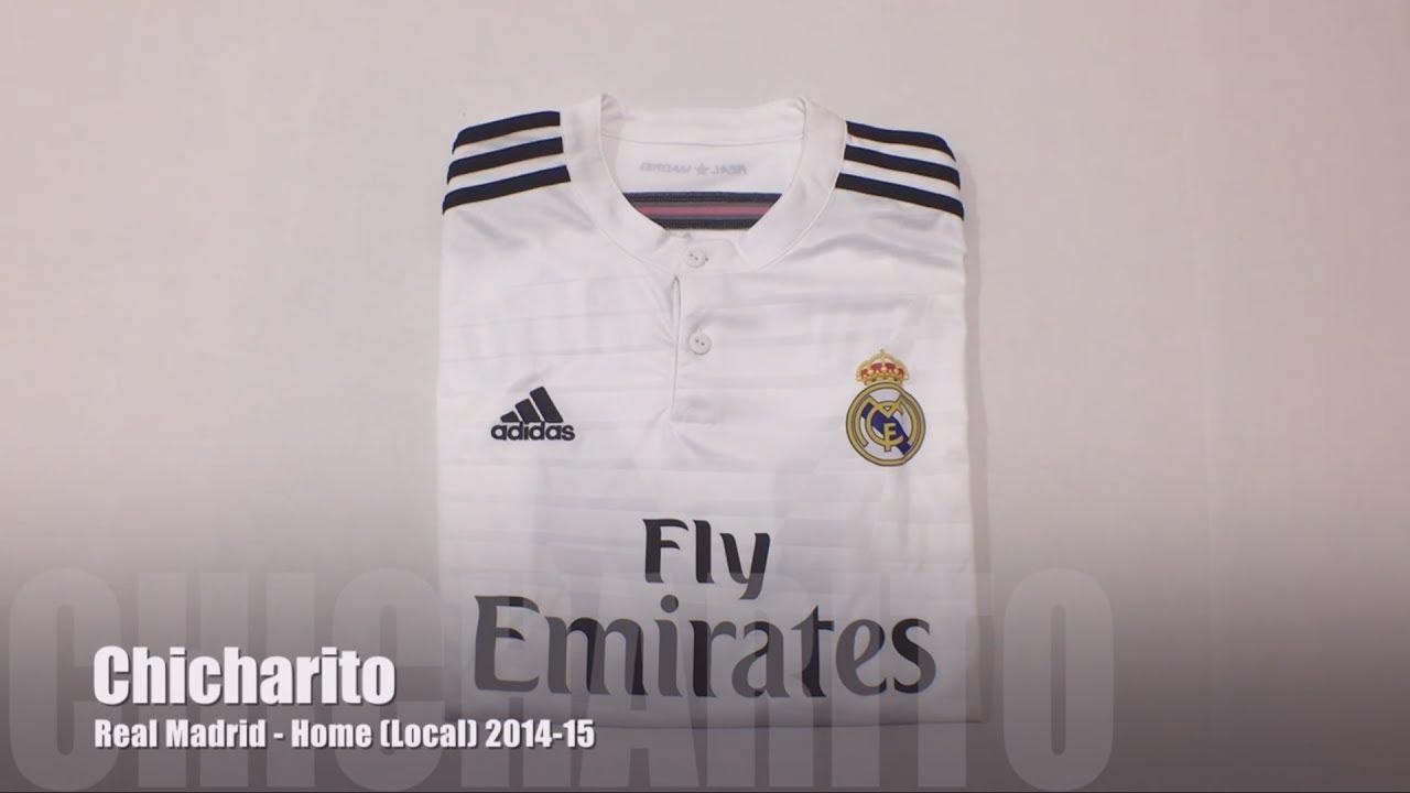 new product e9936 0e606 Real Madrid Home Jersey 2014-15 (Local) - Chicharito