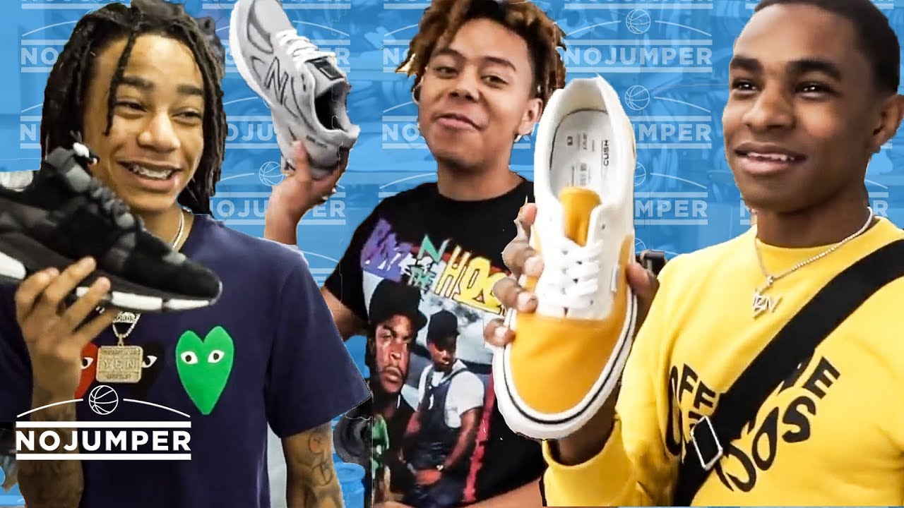 The YBN Crew go Sneaker Shopping with