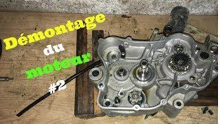 Gas Gas EC 125 - Démontage moteur #2 (changement roulements, joints spy vilebrequin et piston)