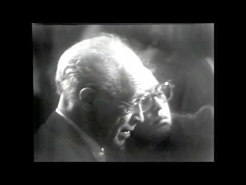 Bach, Triple Concerto BWV 1064. Horszowski, Serkin, Istomin, Casals 1971