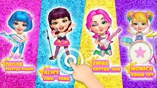Sweet Baby Girl Pop Stars - Superstar Beauty & Fashion | TutoTOONS Cartoons & Games for Kids