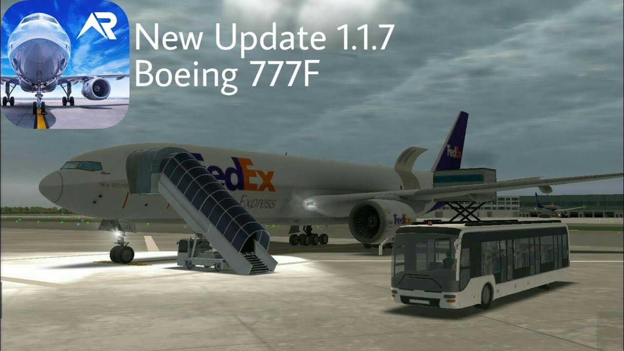 RFS Real Flight Simulator   New Update 1.1.7 Boeing 777F ...