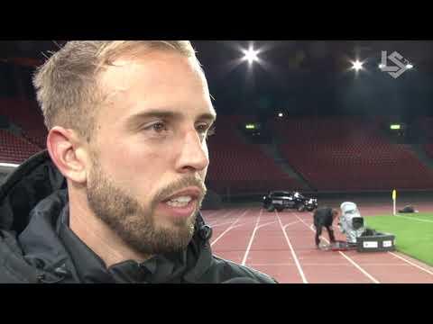 LSTV: Grasshopper Club Zurich - FC Lausanne-Sport, interview d'après-match de Nicolas Gétaz