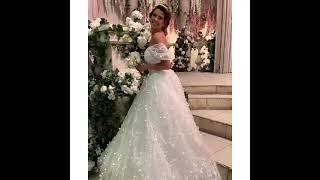 Майя Донцова  в свадебном платье