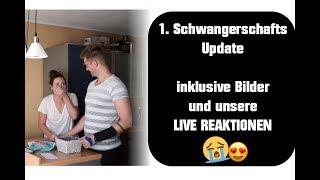1.Schwangerschaftsupdate - inkl. Bilder + LIVE REAKTION von uns!