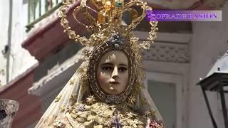 Traslado de la Virgen del Rosario a Santo Domingo (Corpus Christi de Cádiz 2018)