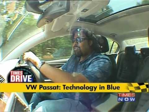 VW Passat: Technology in Blue