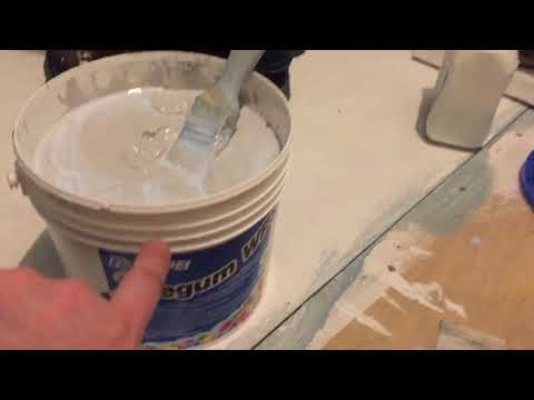 How to tank (waterproof) a shower bathroom etc with mapei shower waterproofing kit