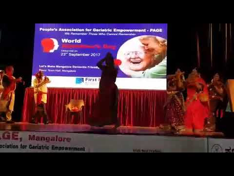 World Alzheimer's month#Senior Citizen's Rocking Dance Performance#Town Hall#23rd Sept 2017