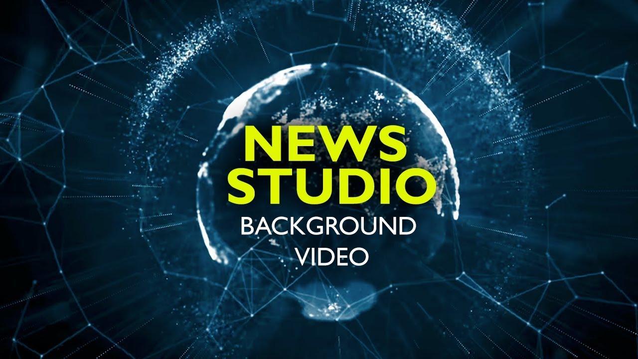News Studio Background Animation Hd Corporate Background Loop