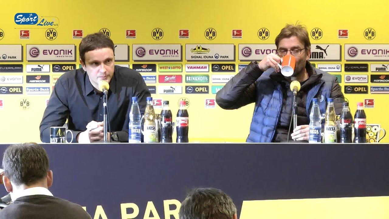 BVB Pressekonferenz vom 22. Februar 2013 vor dem Spiel Borussia Mönchengladbach gegen Borussia Dortmund