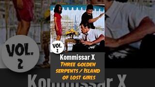 Kommissar X - Three golden serpents / Island of lost Girls (Vol. 2)