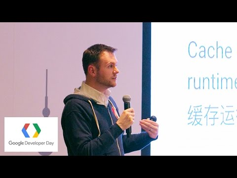 Building Progressive Web Apps with Angular (Google Developer Day 2016)