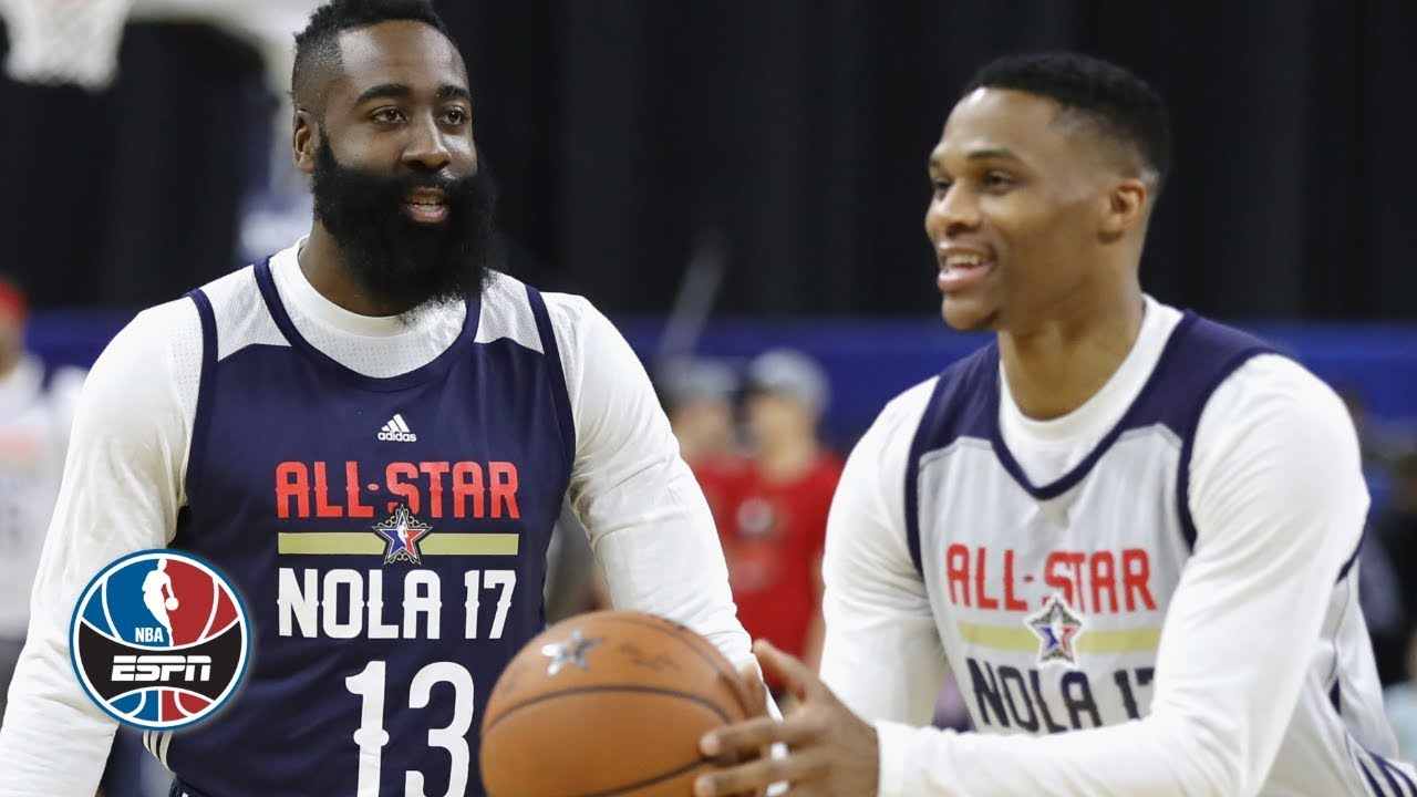 Could James Harden and Russell Westbrook coexist on the same team?   NBA Countdown