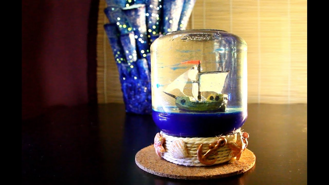 мастер-класс # 8 - Морской сувенир.
