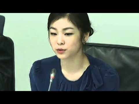 Unicef Goodwill Ambassador Yuna Kim Q&A at UN Peace Day