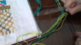 Видеоурок 4. Фенечки косое плетение ЛизаR