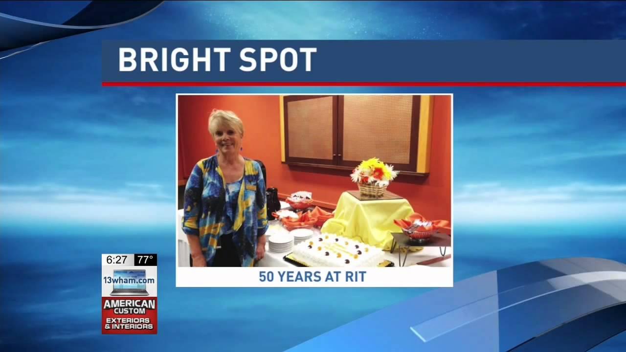 RIT on TV Kathy Carcaci celebrates 50 years at RIT 13WHAM YouTube