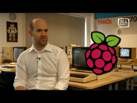 Eben Upton  - The Story of Raspberry Pi