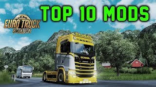 ✅ TOP 10 MODS Euro Truck Simulator 2 - September 2018
