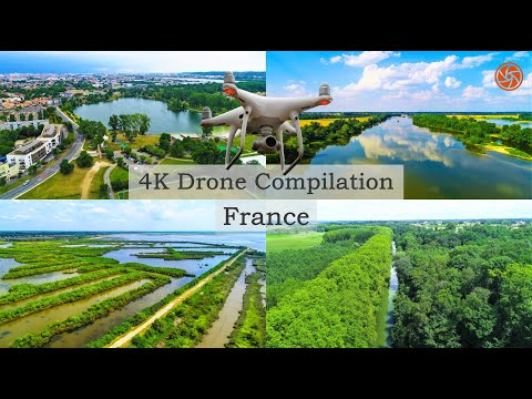 4K Drone Compilation | Bird's Eye View on France