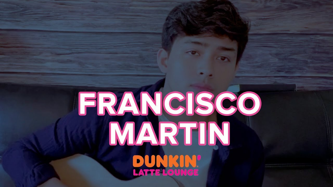 Francisco Martin Performs At The Dunkin Latte Lounge!