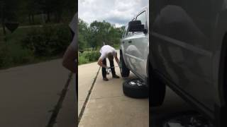 Taking Off Back Tire