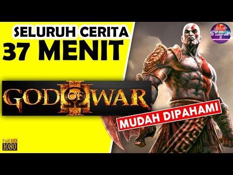 Seluruh Alur Cerita God Of War MITOLOGI YUNANI Hanya 37 MENIT - Penjelasan Mudah Jelas GoW Indonesia