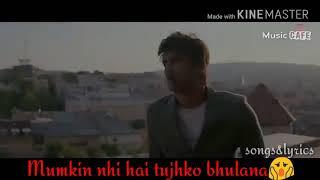 Sajda tera love sad song |Kriti Sanon| and |Sushant Singh| heart touching |sad song|