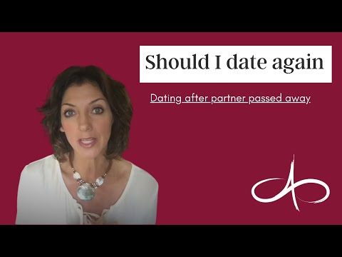 how long after a spouse dies should you start dating