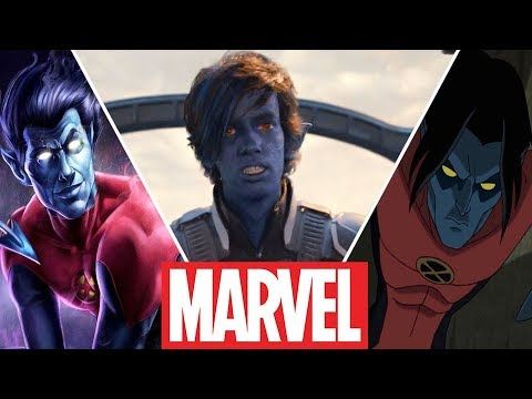 Nightcrawler (Kurt Wagner) Evolution in Movies,Cartoons and Games (2019)