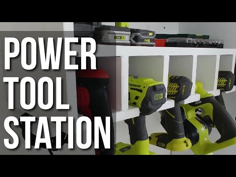 DIY Power Tool Station Project