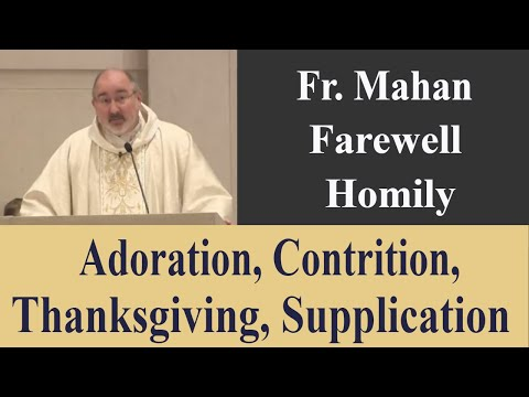 Fr Mahan's Farewell - Please, Thank You, Sorry, Wow! - Jun 16 - Homily