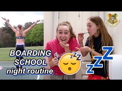 BOARDING SCHOOL NIGHT ROUTINE!