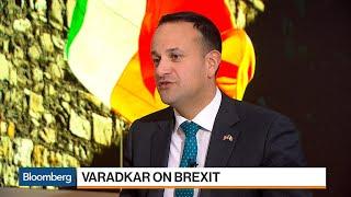 Irish PM Varadkar on Global Trade and Brexit Border Issue