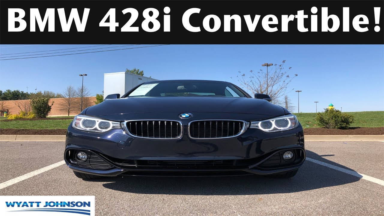 QUICK DRIVE 2016 BMW 4 Series 428i Convertible