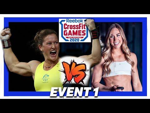 ��tia-clair Toomey Vs Brooke Wells Crossfit Games 2020 �� Crossfit Games 2...