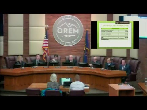 City Council Meeting - March 29, 2016