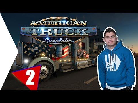 NAGYON ADJA EZ A KAMION! | American Truck Simulator #2.