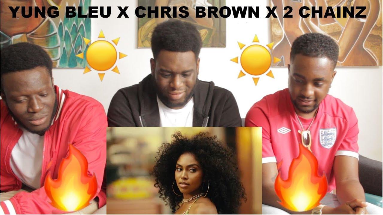 Download Yung Bleu, Chris Brown & 2 Chainz - Baddest (Official Video)(REACTION)